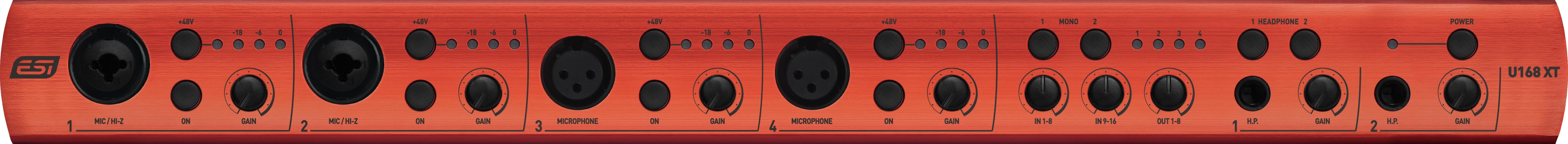 Interface audio USB ESI U168 XT