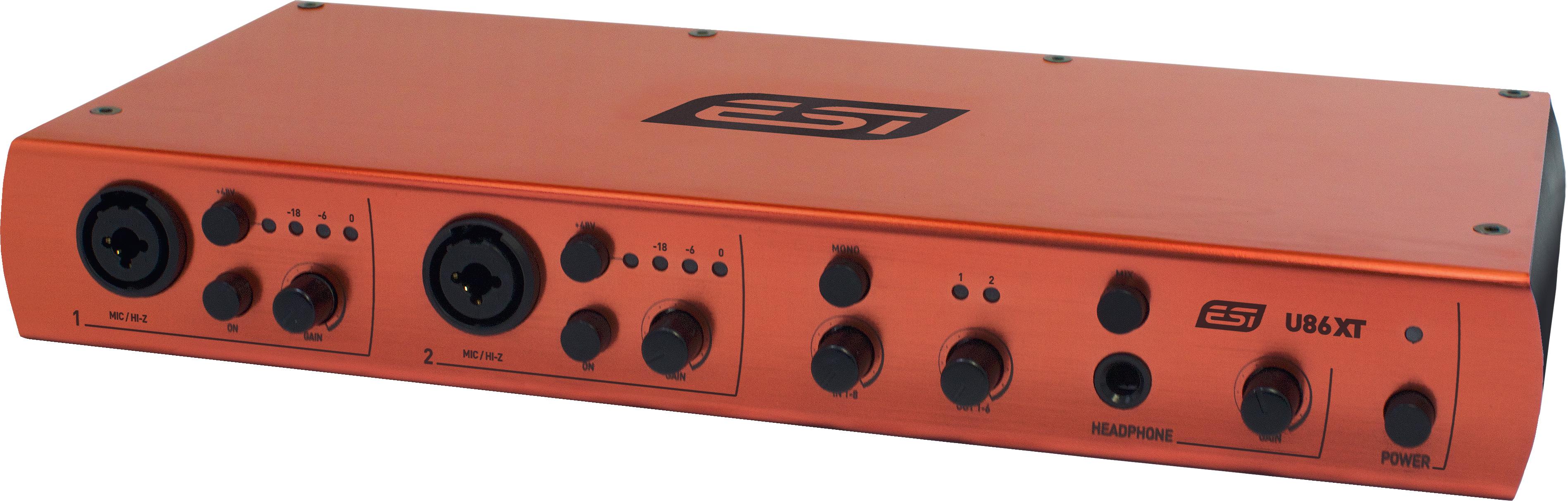 ESI U86 XT – новый профессиональный аудиоинтерфейс