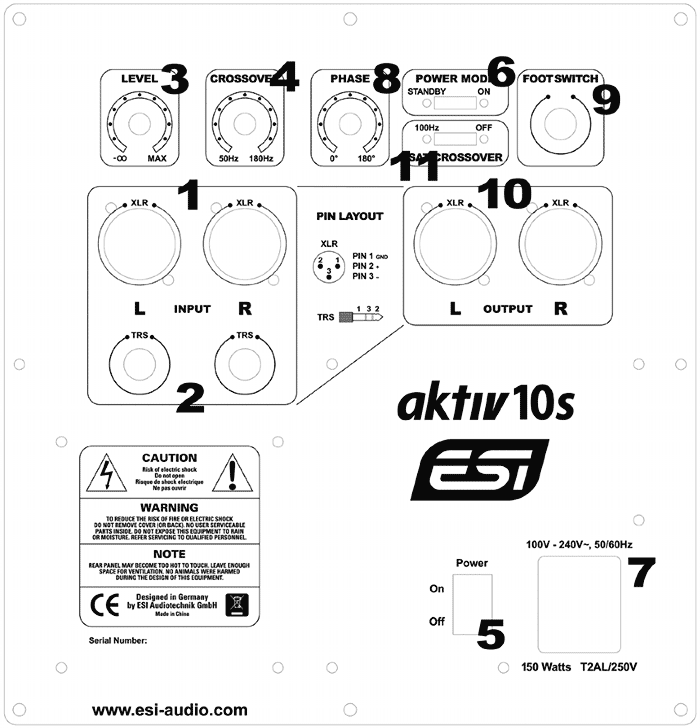 esi   faq  aktiv 10s connectors  u0026 functions