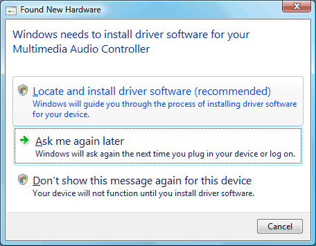 multimedia audio controller driver for windows 7 download